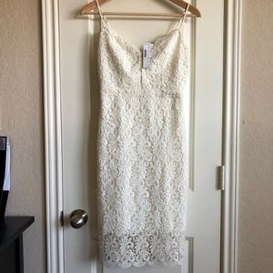 NWT Guipure Lace Dress 00